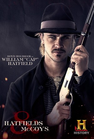 Hatfields and McCoys Poster: William 'Cap' Hatfield