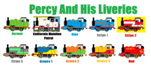 Percy And His Liveries