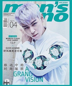 T.O.P Graces the Covers of ''men's uno''