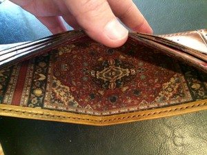 The rug that ties the wallet together