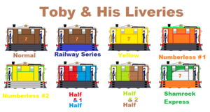 Toby And His Liveries