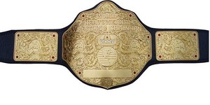 WCW World Championship Belt