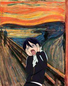 Yato in a painting