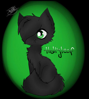 hollyleaf  warrior cats  by willowthefirewolf d93kyq5