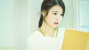 160419 IU for Sony Korea 라임 옐로우 Lime Yellow