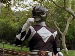 Adam Morphed As The secondo Black Mighty Morphin Ranger