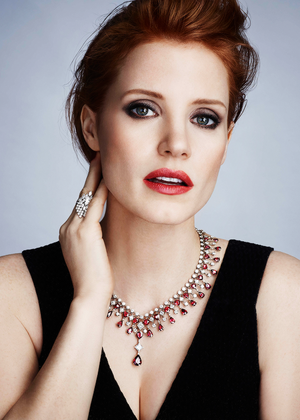 Jessica Chastain - Piaget 2015 Campaign