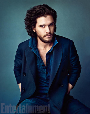 Kit Harington in Entertainment Weekly Photoshoot