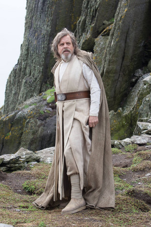 Mark Hamill as Luke Skywalker in ep. 8
