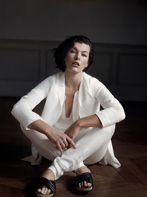 Milla Jovovich - The Edit Photoshoot - 2013