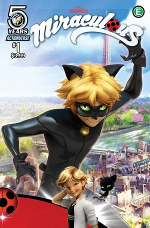 Miraculous Ladybug Comic Book Covers