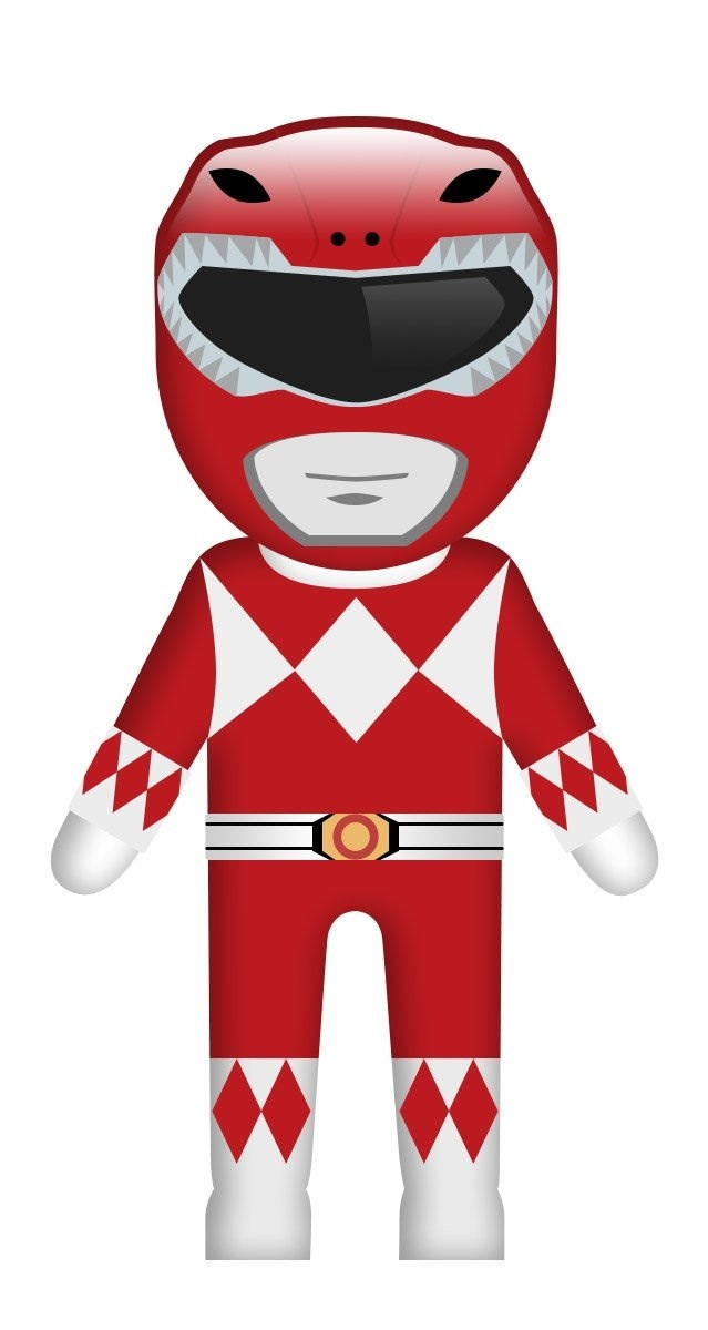 Red ranger emoji