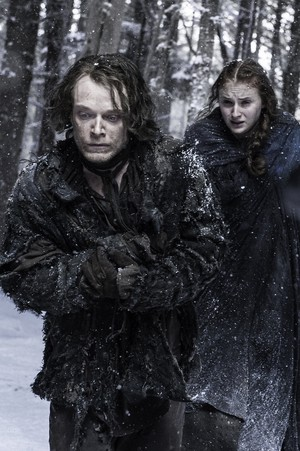 Sansa Stark and Theon Greyjoy- Season 6