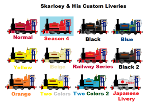 Skarloey And His Custom Liveries