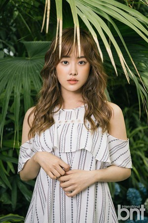 Song Ji Eun for 'International bnt'
