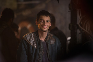 "The 100 ""Red Sky at Morning"" (3x14) promotional picture"