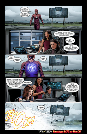 The Flash - Episode 2.18 - Versus Zoom - Comic voorbeeld