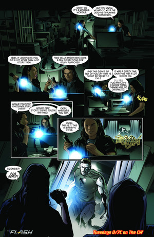 The Flash - Episode 2.21 - The Runaway Dinosaur - Comic Preview