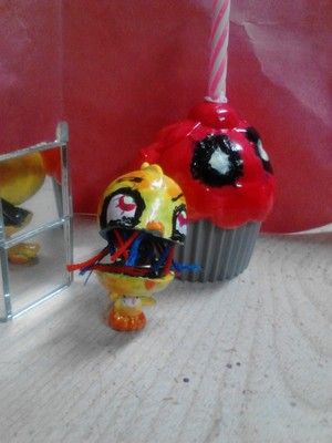 Withered Chica Custom LPS