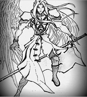 sephiroth by me