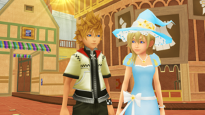 A Nobody and Witch Spend More Time Together  Roxas x Namine