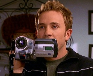 Andrew with his video camera