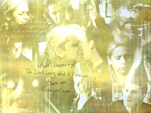 Buffy/Angel Wallpaper - Cry