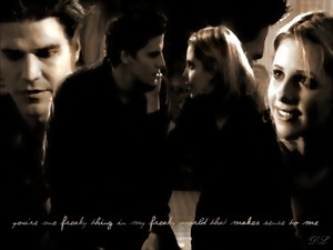 Buffy/Angel Wallpaper - Only Thing That Makes Sense