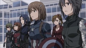 Captain America: Civil War - anime Style
