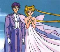Darien and Serena as King Endymon and Neo queen Serenity 2