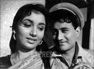 Dev Anand and Sadhana