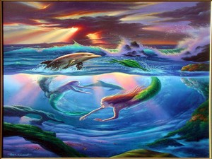 Dolphins and Mermaids