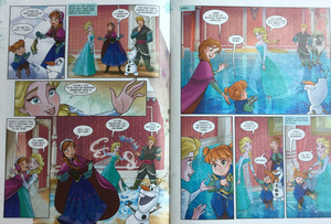 Frozen Comic - A Special Teacher