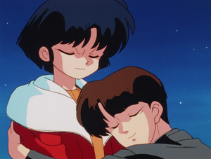 Ranma ½ Akane Tendo getting hugged द्वारा Sentaro