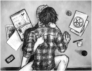 Sam/Dean Fanart - Research