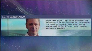 Sean Bean on Sci-FI Channel