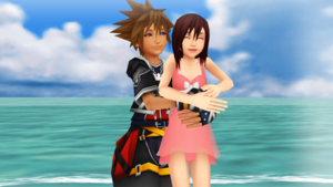 Sora and Kairi Summer moyo and Healing..