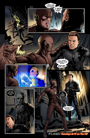 The Flash - Episode 2.23 - The Race of His Life - Comic cuplikan