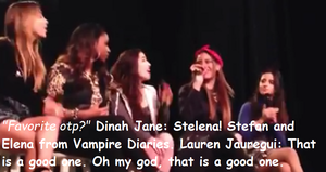 dinah jane and lauren jauregui about stelena