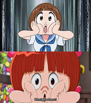 mako pinoko face comparison