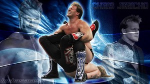wolpeyper of wwe wrestler chris jericho fighting