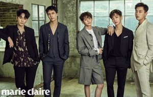 B2ST for 'Marie Claire'