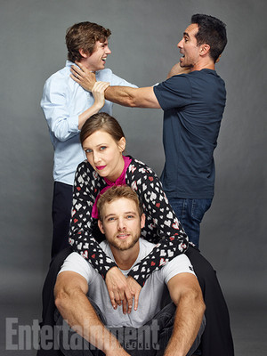 Bates Motel Cast - EW Portrait