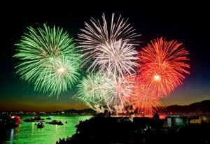 Beautiful Italy fireworks