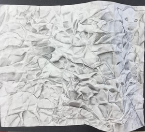 Crumpled Paper Drawing