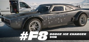 Fast 8 Cars - Dom's Dodge Ice Charger
