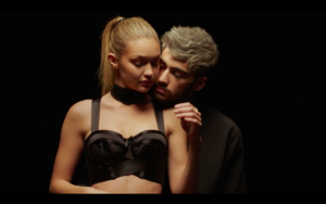 Gigi in Zayn's Pillowtalk Music Video