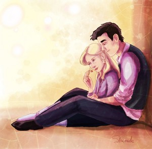 Luna/Neville Fanart - Together