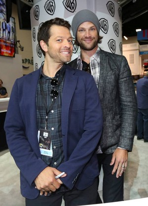 Misha and Jared