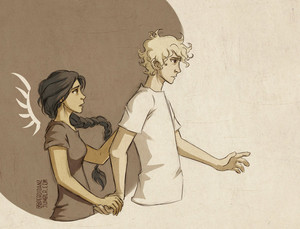 Peeta/Katniss Drawing - Stay
